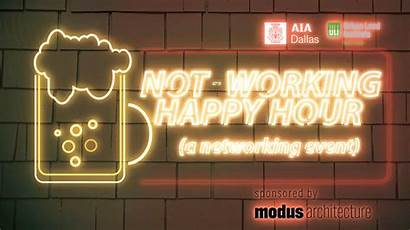 Happy Networking Hour Event Working