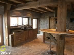 cuisine en granit cuisine cuisine de ferme avec plan de travail en granit