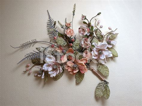 Dry Flowers Decoration For Home: Dry Flower Home Wall Decoration Stock Photos