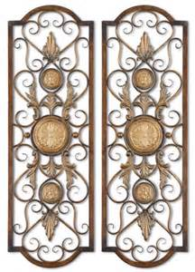 tuscan scrolling wrought iron wall grille decorative metal wall ebay