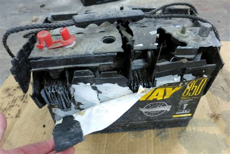 Boat Battery Leaking by Battery Bank Failures Shorts Sailboatowners