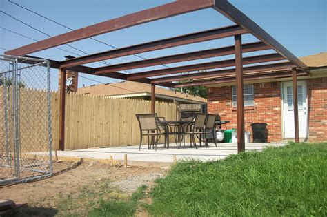 stylish metal patio covers as and