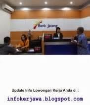 lowongan kerja bank jateng terbaru bulan februari