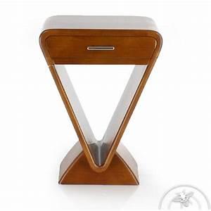 Table De Chevet Design : table de chevet design icone saulaie ~ Teatrodelosmanantiales.com Idées de Décoration