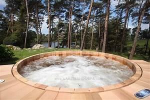 Spa Bois Exterieur : jacuzzi exterieur bois maison design ~ Premium-room.com Idées de Décoration