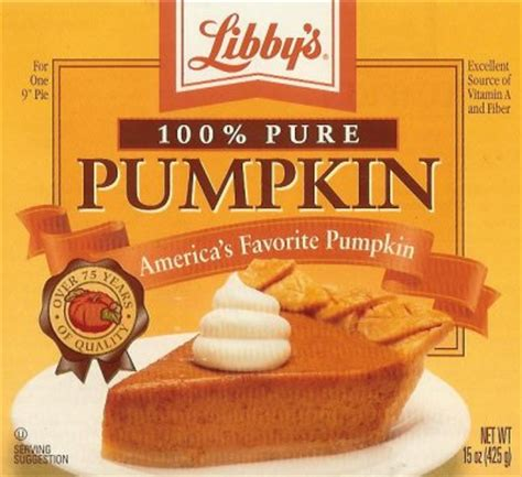 Libby Pumpkin Pie Recipe On Label by Burnt French Toast Merging Old Recipes Amp New Ideas