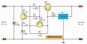 12v To 5v Converter Step Down  3a Regulator