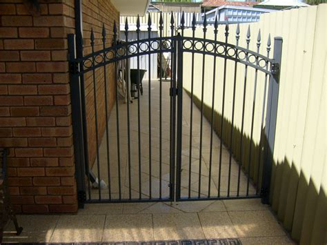 swing gate automatic swing gates perth driveway gates feature fencing