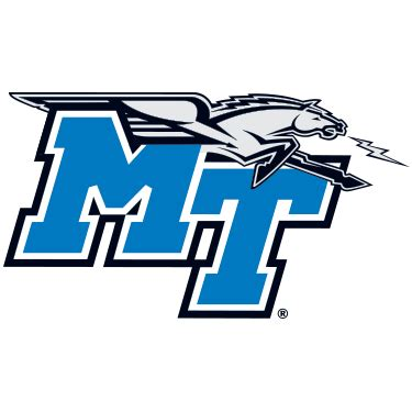 printable middle tennessee state blue raiders logo