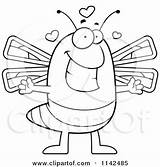 Dragonfly Clipart Cartoon Coloring Gravy Loving Vector Thoman Cory Outlined Template sketch template