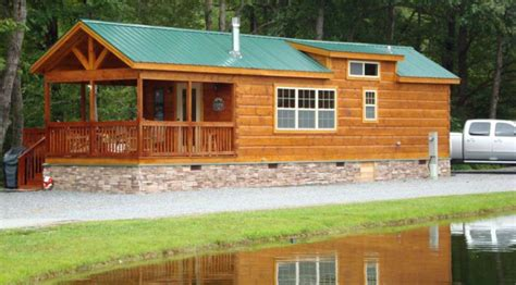 log cabin trailer homes log cabin mobile homes makes you feel at home with nature
