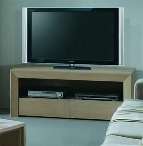 Meuble TV Design En Bois Brin D39Ouest