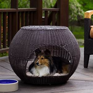 outdoor igloo dog bed traditional dog beds other With outside dog furniture