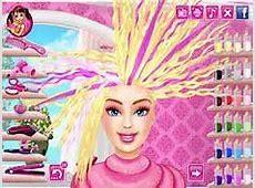 Barbie Real Haircuts Barbie Games at Pomucom