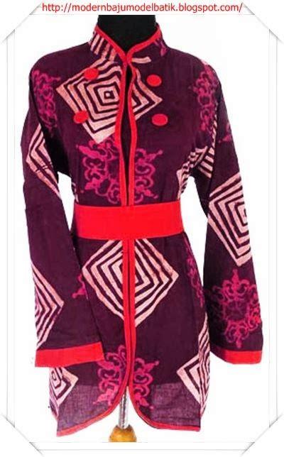 edisi modern dan terbaru baju batik untuk perempuan