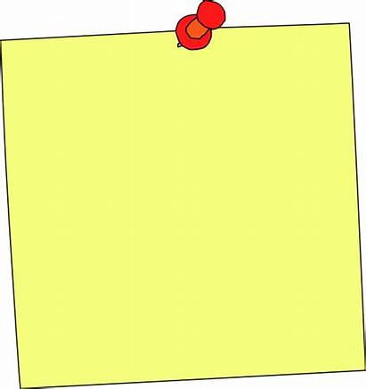 Board Clip Clipart Note Posted Paper Notice