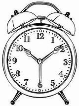 Wecoloringpage Coloring Alarm Clock Boys Boy sketch template