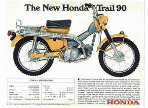 1969 Honda Trail 90 Model Ct