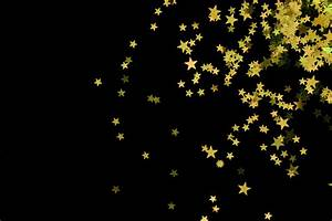 Stars clipart black background - Pencil and in color stars ...