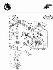 King Canada Grinder 8308 User Guide