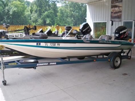 Pro Elite Bass Boat Seats by Stratos 201 Pro Elite Boats For Sale