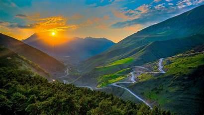 Mountain Mountains Nature Definition Landscape Sunrise Scenery