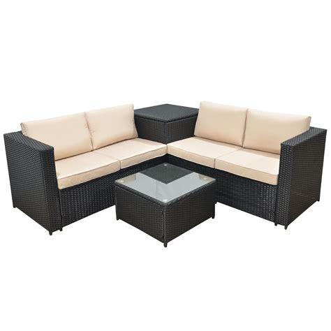 gartenmoebel rattan lounge jalano poly rattan lounge set sm1 gartenm 246 bel