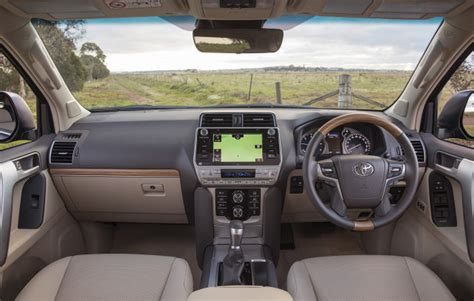 toyota land cruiser price review interior