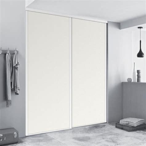 largeur porte chambre kazed façades de placards coulissantes blanches achat