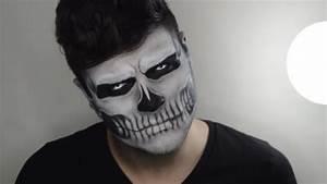 Maquillage Halloween Garcon : maquillage halloween homme 12 tutoriels vid o qui ~ Melissatoandfro.com Idées de Décoration