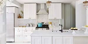 40 best kitchen ideas decor and decorating ideas for With kitchen colors with white cabinets with napa valley wall art