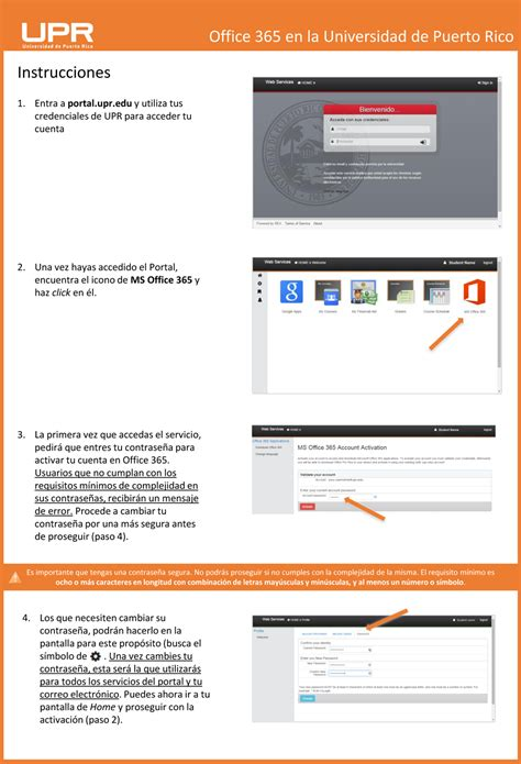 Office 365 Portal Disclaimer by Instrucciones Office 365