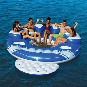 Bestway Ou Intex : bestway blue caribbean 6 person floating island rivers ~ Melissatoandfro.com Idées de Décoration