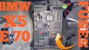 Bmw X5 E70 Fuses Box Location