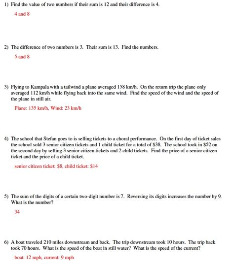 help solving linear equations word problems linear