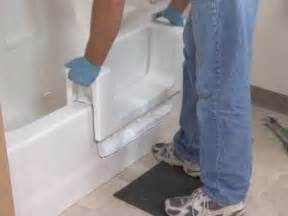 Convert Shower To Tub Shower Combo by Safeway Step Bathtub Accessibility Modification Youtube