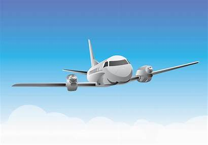 Plane Airplane Flying Clipart Sky Graphics Aircraft
