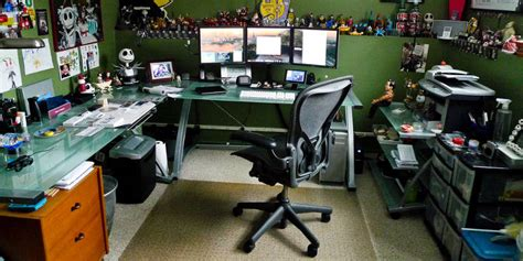 pc de bureau complet quelques idées pour améliorer le confort devant écran