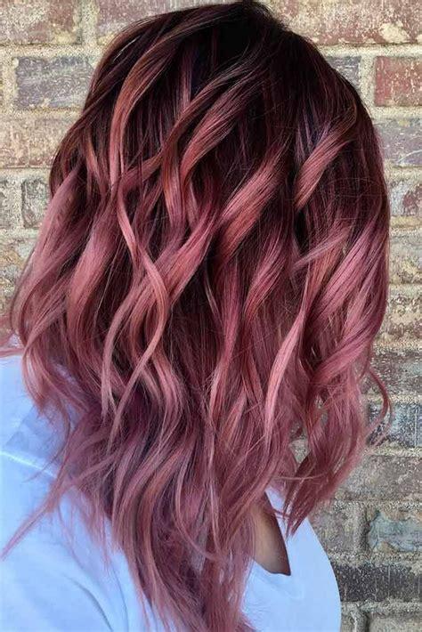 auburn hair  highlights ideas  pinterest