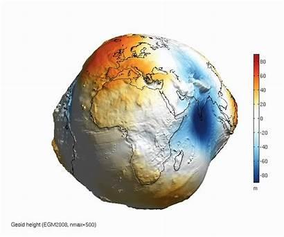 Gravity Global Globe 3d Earth Geoid Potato