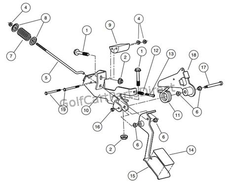 Club Car Xrt Part Diagram by Club Car Xrt 1500 Parts Diagram Downloaddescargar