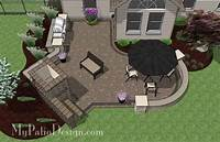 "best corner patio design ideas Corner Patio Designs for 8' ""L"" Shaped Homes 