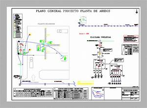 Industrial Project  Plant Aridos Dwg Full Project For