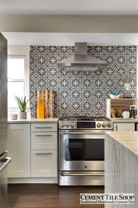 Kitchen Tiled Splashback Ideas - cement tile shop blog encaustic cement tile