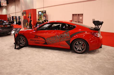 For full details such as dimensions, cargo capacity, suspension, colors, and brakes, click on a specific genesis coupe trim. Modified 2010 Hyundai Genesis Coupe Ready for Redline Time ...