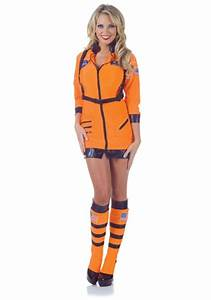Sexy Female Astronaut Halloween Costume in several styles