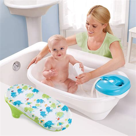 summer infant spa tub new convenient newborn to toddler bath and shower tub