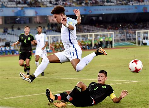 Under-17 World Cup: England Beat Mexico 3-2 to Reach Pre ...