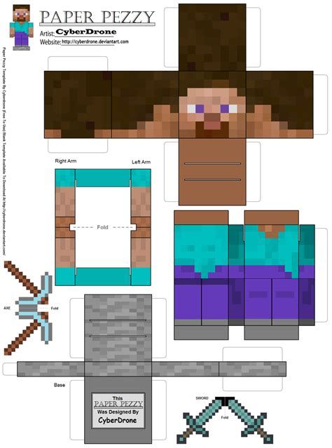 zombie monster truck videos paper pezzy steve 39 minecraft 39 by cyberdrone on deviantart