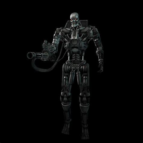 En 2018, après l'apocalypse qui a vu s'affronter les hommes et les robots. Artworks Terminator Renaissance